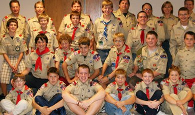 boy scouts Fundraising