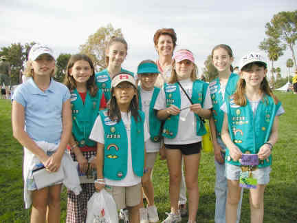 girl scouts Fundraising