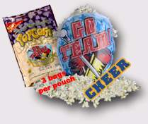 cheerleading fundraiser popcorn