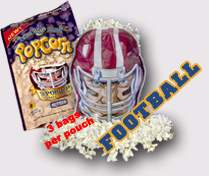 football fundraiser popcorn