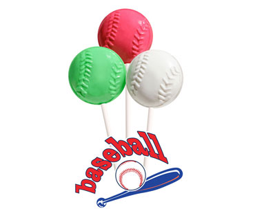 Baseball Fundraising Lollipops