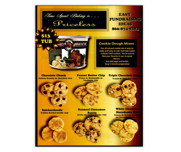 Dry Cookie Dough Fundraising