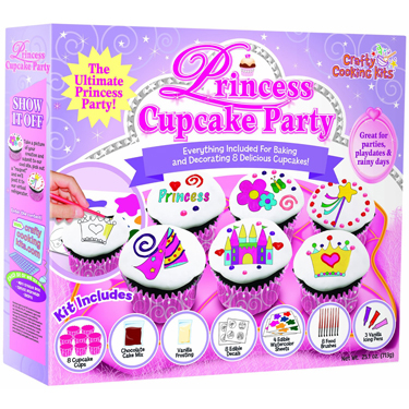 Princess Cupcake Party Kit