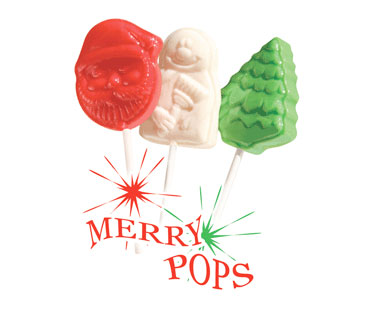 Christmas Fundraising Lollipops