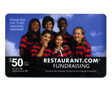 Restaurant Gift Card Fundraiser
